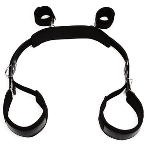 BDSM Bondage Restraint Set Sex Handcuffs Wrist Cuffs Leg Open Fetish