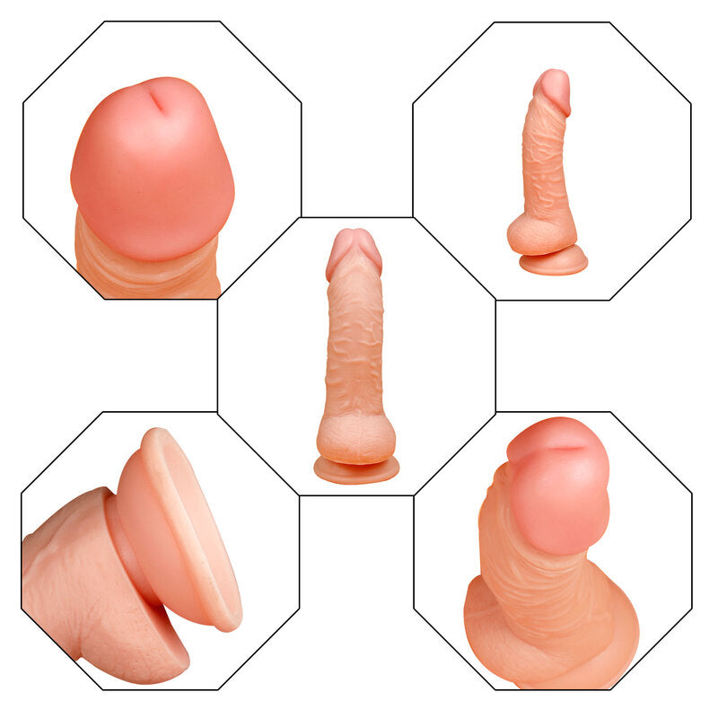 MD Trigun 20cm Realistic Dildo with Suction Cup