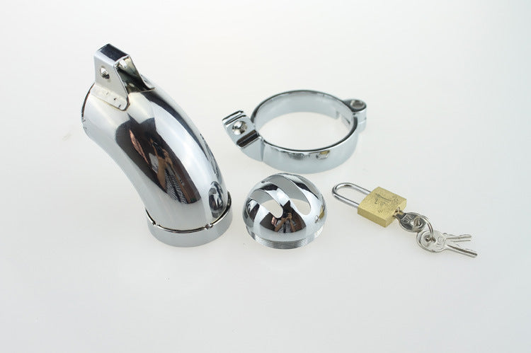 RY Armor Metal Male Chastity Cage Penis Cage Cock Cage / 3 Ring Size