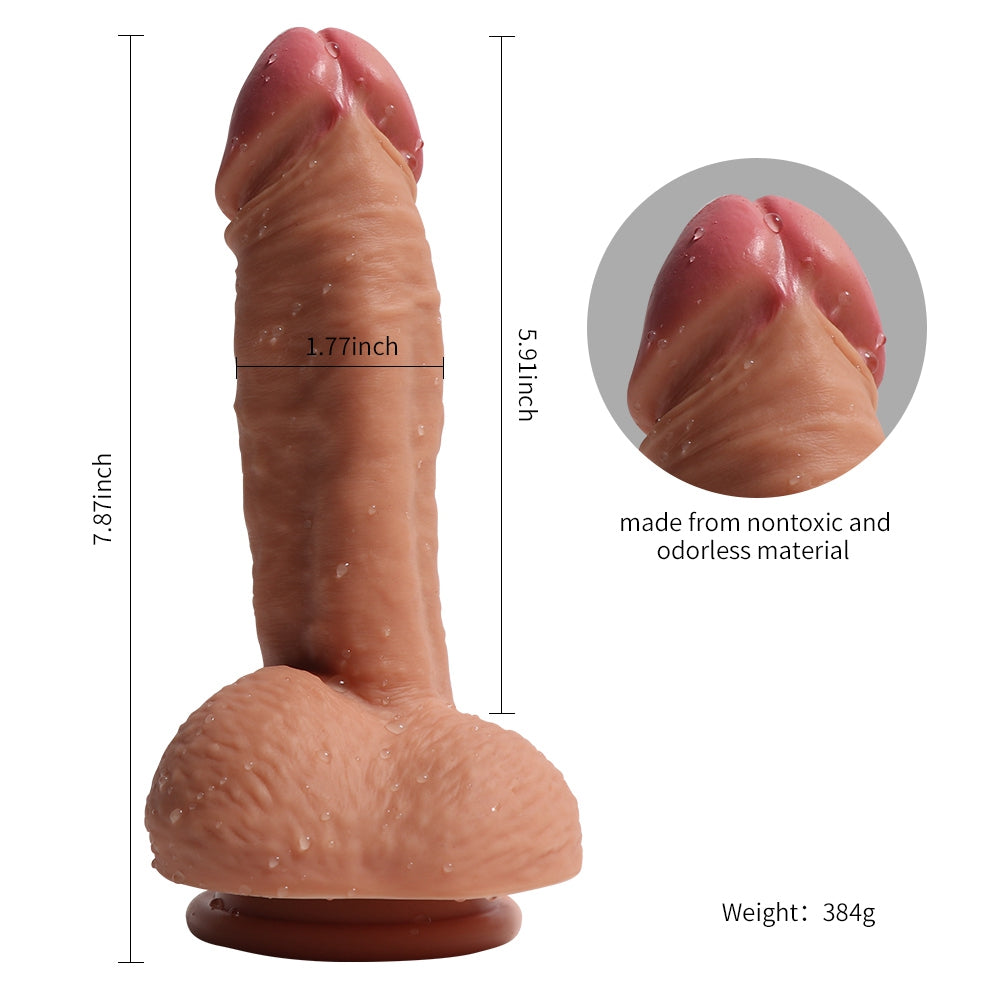 MD Dragon Slaying 7 inch Premium Silicone Realistic Dildo