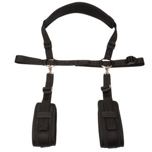 BDSM Bondage Restraint Set Thigh Leg Open Fetish Sex Waist Cuffs Soft