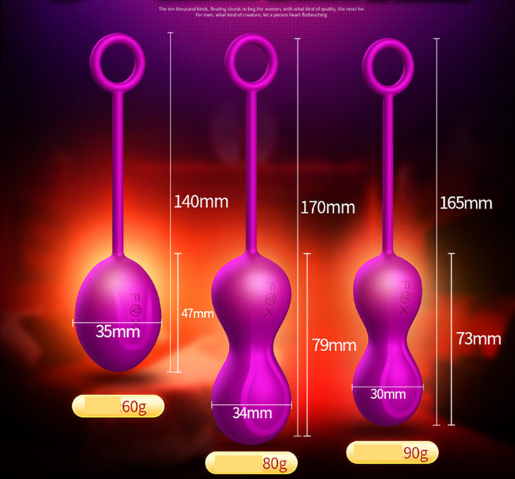FOX M5 Duo Kegel Ben Wa Balls Pelvic Floor Exercise 3in1 Set