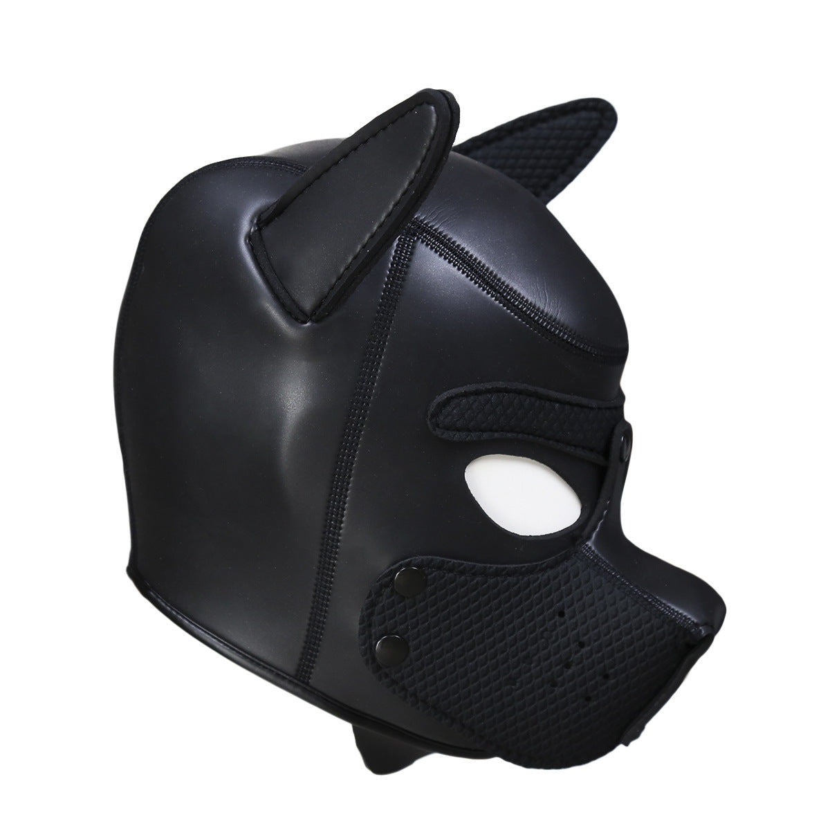 BDSM Soft Bondage Puppy Hood Head Mask
