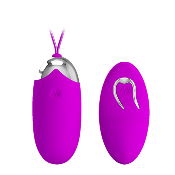 PRETTY LOVE Berger 12 Modes Remote Control Bullet Vibrator Love Egg