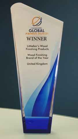 Wood Finishing Brand of the Year!