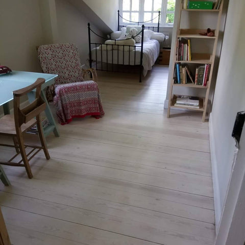 Seawashed White Floor Stain