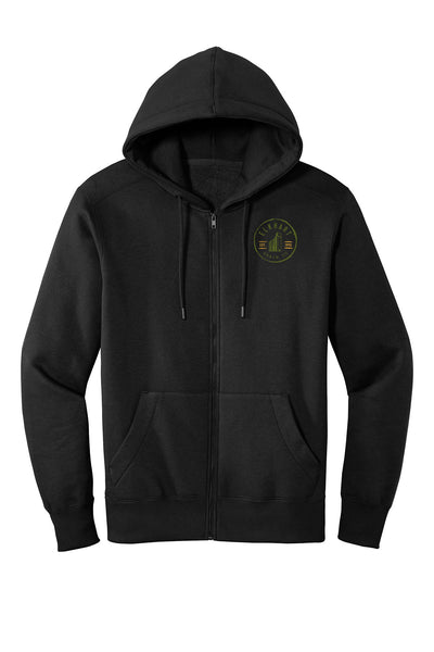 Elkhart Grain Co Fleece Full Zip Hoodie (E.DT1103)