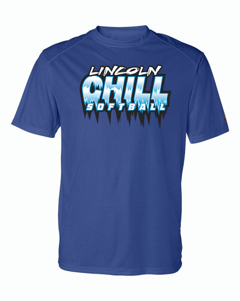 Lincoln Chill Softball Dri-Fit Short Sleeve Tee