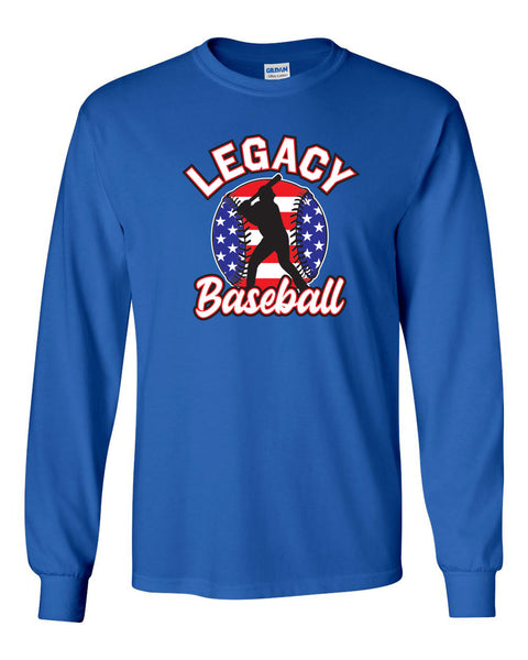 Legacy Baseball Unisex Long Sleeve