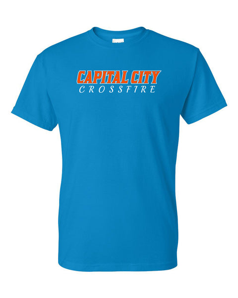CAPITAL CITY CROSSFIRE SOFTBALL UNISEX TSHIRT (P.GILD8000)