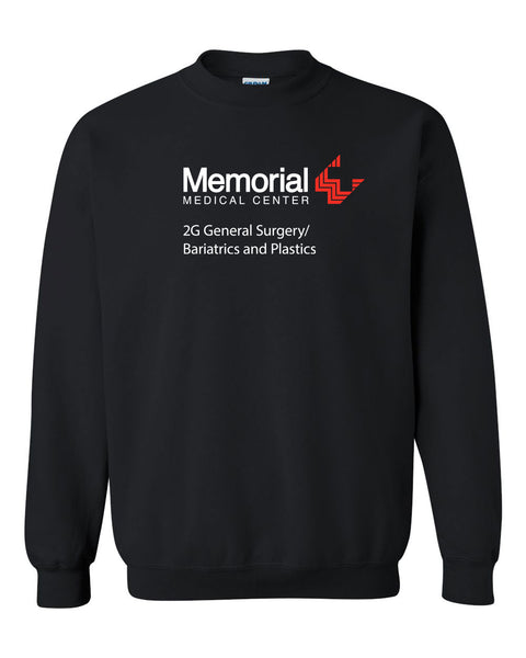 Memorial 2G General Surgery/Bariatrics and Plastics Crewneck Sweatshirt