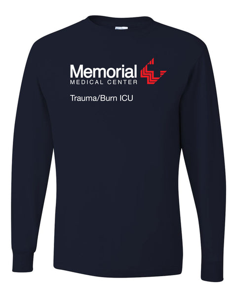 Memorial Burn ICU Unisex Long Sleeve (P.JER29LSR)