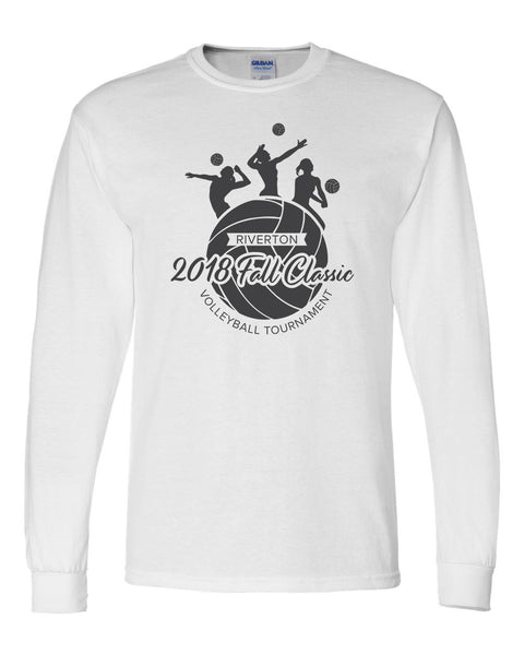 Riverton Volleyball Classic Gildan Long Sleeve Shirt