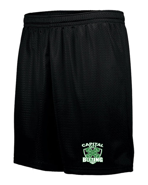 Capital City Boxing Club UNISEX Tricot Mesh Shorts (P.Aug1842)