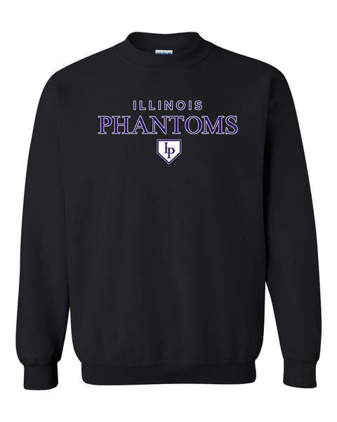 PHANTOM SOFTBALL UNISEX CREW SWEATSHIRT