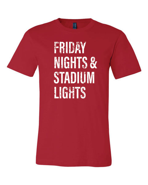 Friday Nights & Stadium Lights - Unisex T-Shirt