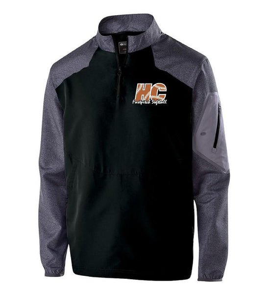 HITTING CENTER SOFTBALL LONG SLEEVE RAIDER PULLOVER (E.HOL229155)