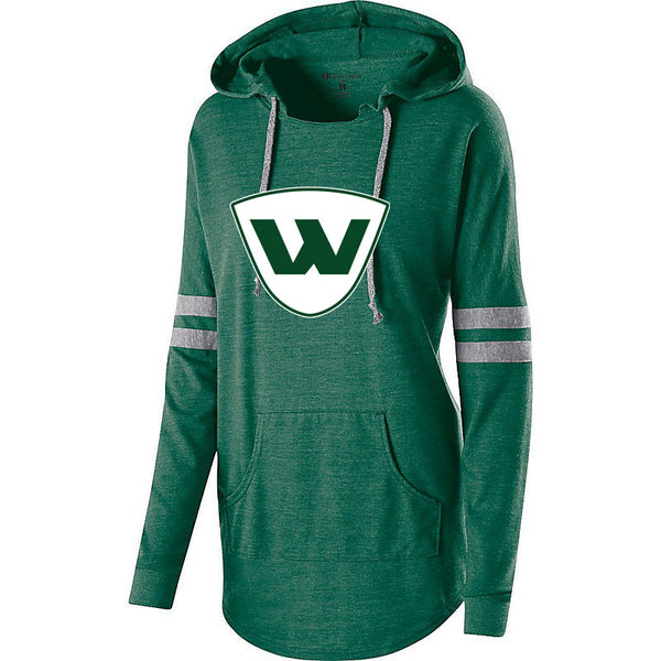 PEORIA WIZARDS LADIES HOODED PULLOVER