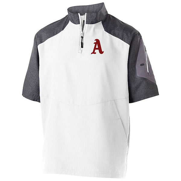 LADY ARSENAL Unisex Raider Short Sleeve Pullover