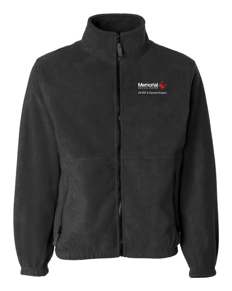 Memorial 2B ENT & General Surgery Unisex Sierra Pacific Zip Fleece Jacket