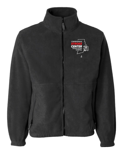 RI Hospital Stroke Center Unisex Sierra Pacific Zip Fleece Jacket