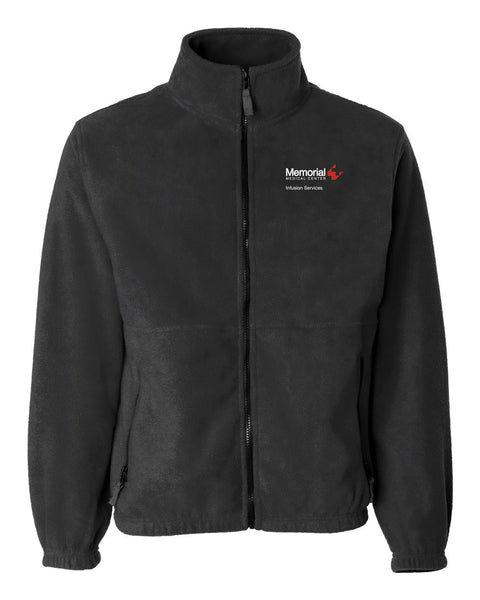 Memorial Infusion Services Unisex Sierra Pacific Zip Fleece Jacket