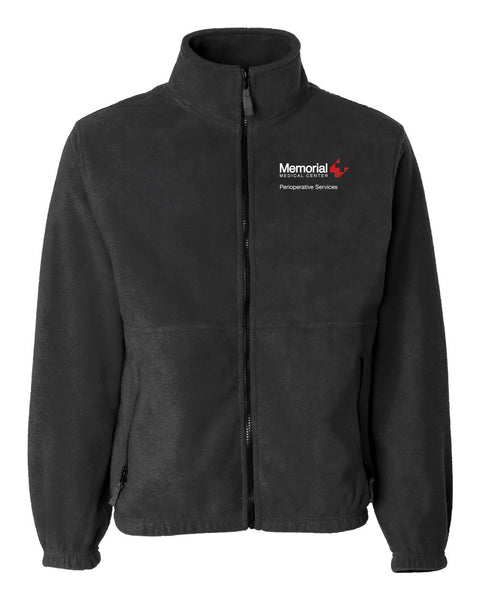 Memorial Perioperative Services Unisex Sierra Pacific Zip Fleece Jacket