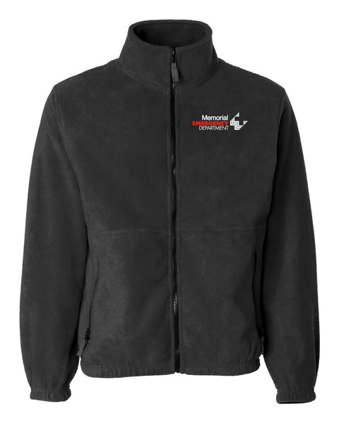 Memorial Emergency Department Unisex Sierra Pacific Zip Fleece Jacket