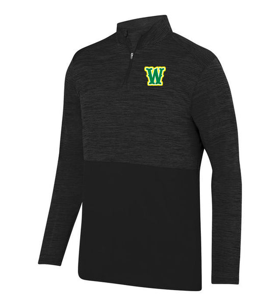 WHIPLASH SOFTBALL UNISEX SHADOW TONAL QUARTER ZIP (E.2908)