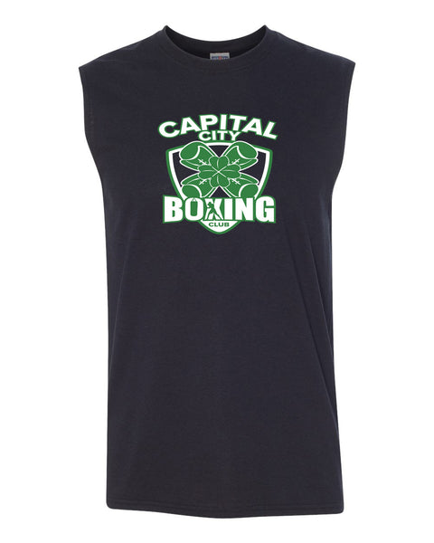 Capital City Boxing Club UNISEX Sleeveless TShirt (P.Jerz29SR)