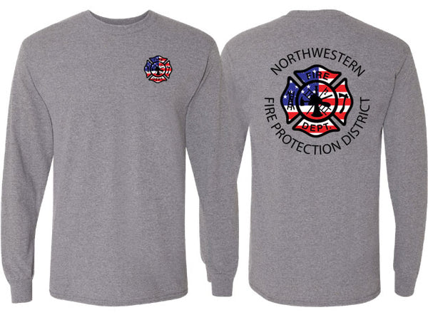 Northwestern Fire Department UNISEX LONG SLEEVE