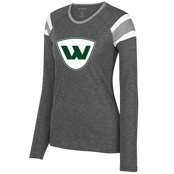 PEORIA WIZARDS LADIES AUGUSTA FANATIC LONG SLEEVE