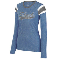 Blue Ice Shock Augusta Fanatic Long Sleeve