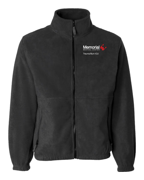 Memorial Burn ICU Unisex Sierra Pacific Zip Fleece Jacket