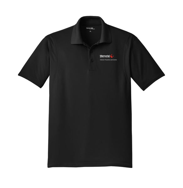 Memorial Infection Prevention and Control Unisex SPORT TEK Short Sleeve Polo