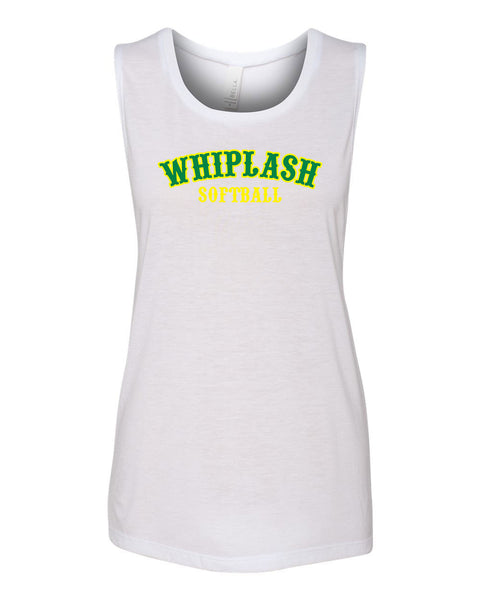 WHIPLASH SOFTBALL LADIES MUSCLE TANK (P.Bella8803)