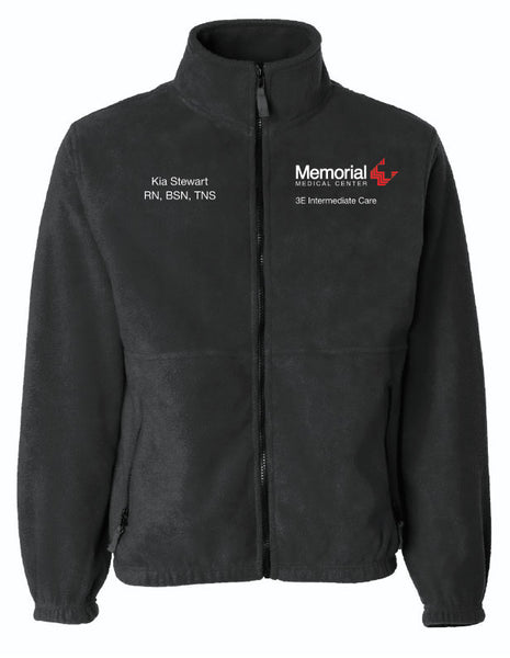 Memorial 3E Intermediate Care Unisex Sierra Pacific Zip Fleece Jacket