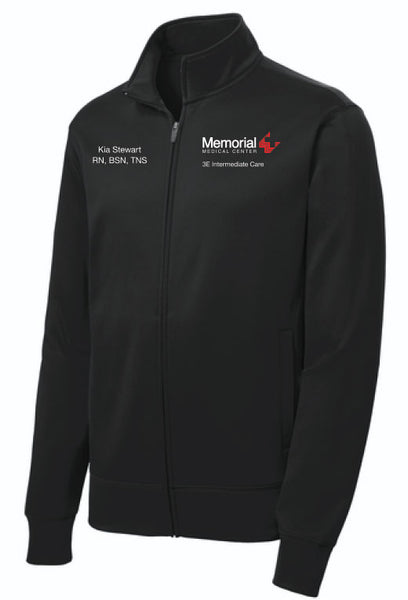 Memorial 3E Intermediate Care Unisex Sport Tek Fleece Jacket