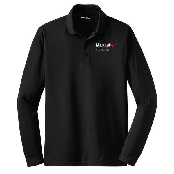 Memorial Burn ICU Unisex SPORT TEK Long Sleeve Polo