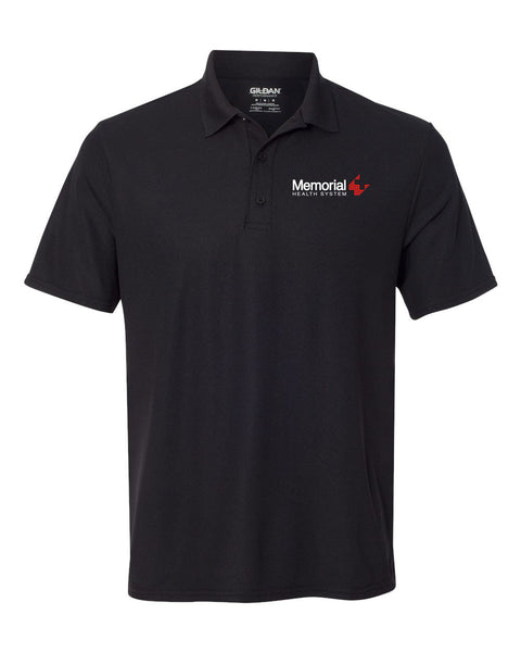 Memorial Health System Unisex SPORT TEK Short Sleeve Polo