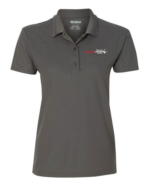 Memorial Wellness Center Ladies Short Sleeve Polo