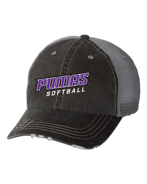 PUMAS SOFTBALL Vintage Trucker Hat