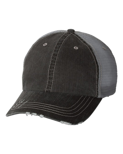 ZERR ENGINEERING VINTAGE TRUCKER HAT (6990)