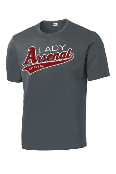 LADY ARSENAL Unisex DriFit T-Shirt