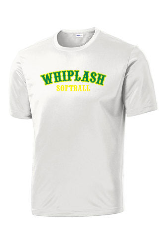 WHIPLASH SOFTBALL UNISEX PERFORMANCE TSHIRT (P.ST350)