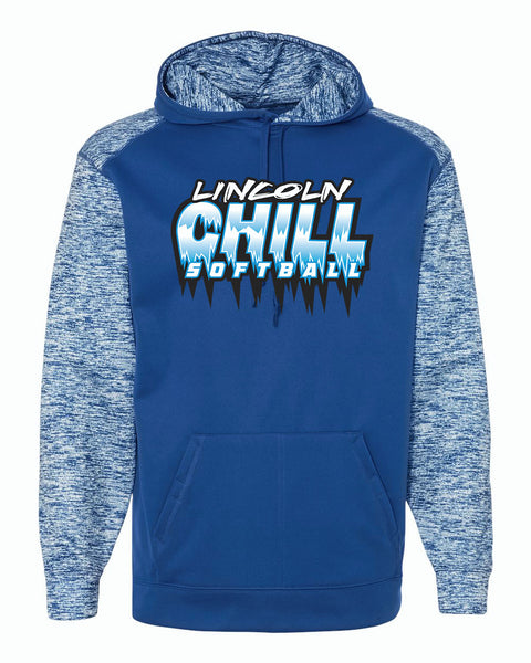 Lincoln Chill Softball Badger Sport Blend Sweatshirt