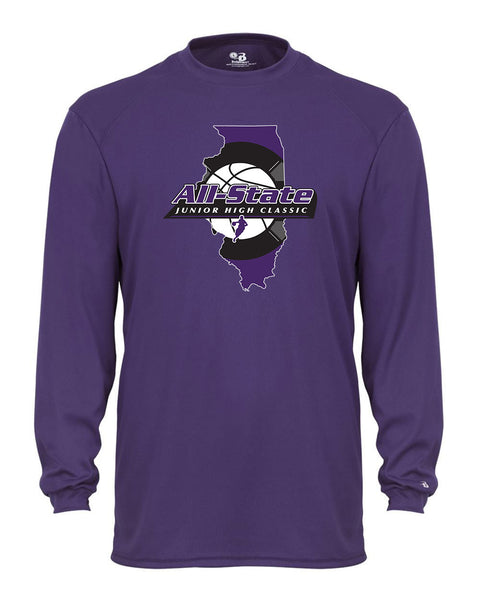 All-State Junior High Classic UNISEX Dri-Fit Long Sleeve