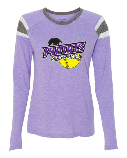 PUMAS SOFTBALL Ladies Fanatic Long Sleeve