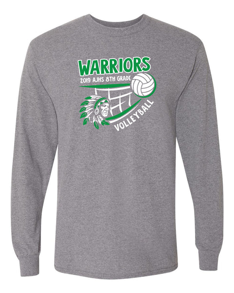 AJHS 2019 8th Grade Volleyball Long Sleeve