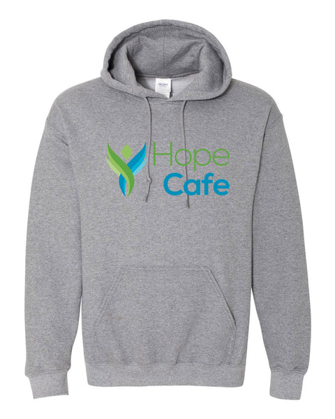 HOPE CAFE Hooded Sweatshirt
